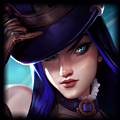 ngọc bổ trợ caitlyn