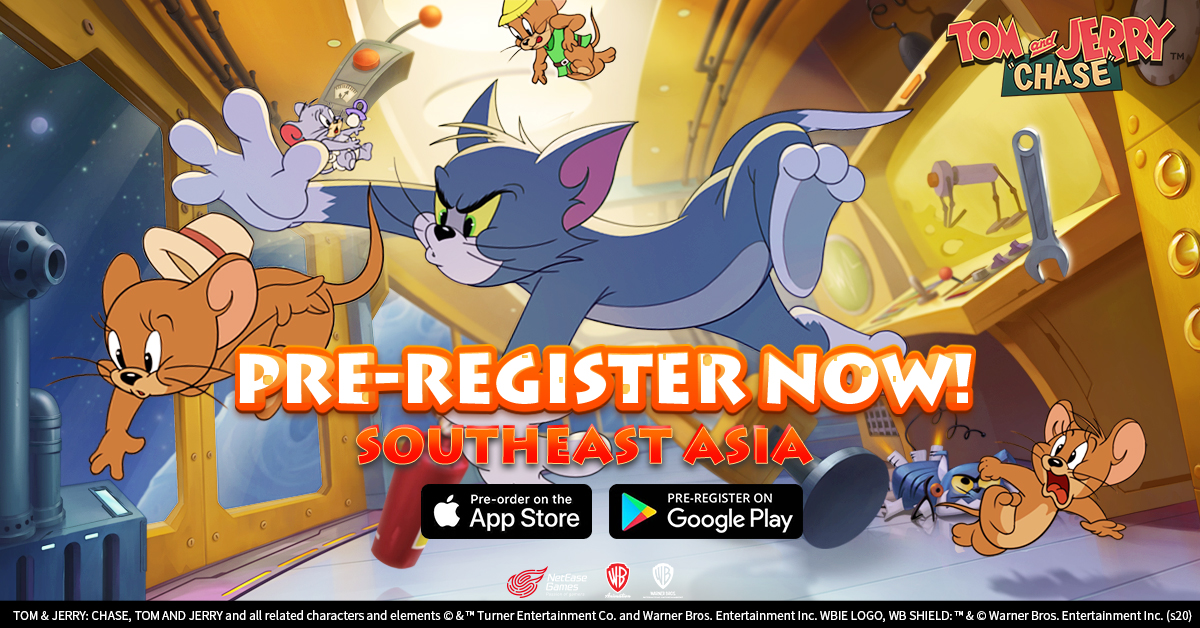 tom and jerry chase on the app store