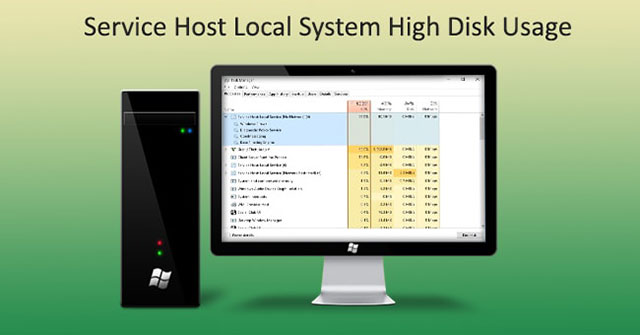 fix: high cpu usage by service host: local system in task manager windows 10