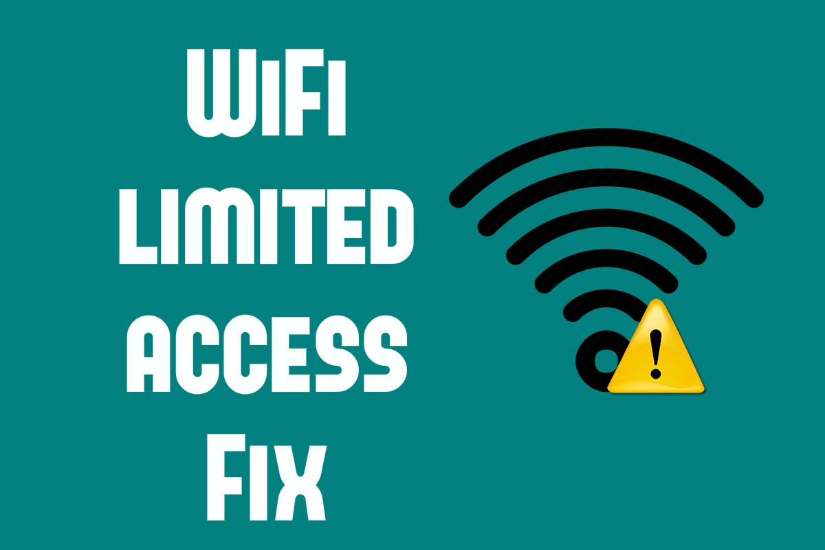 wifi bị limited access